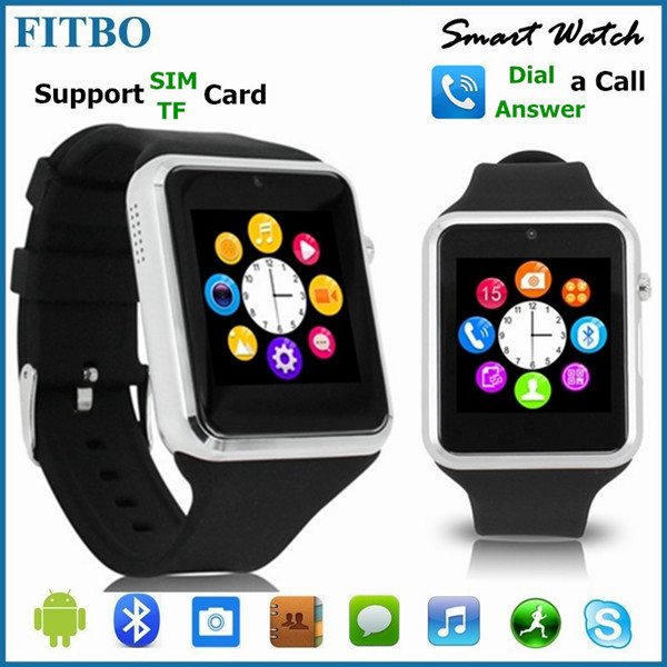 Super Slim Android System Factory wristwatch , smart watch for huawei note 8