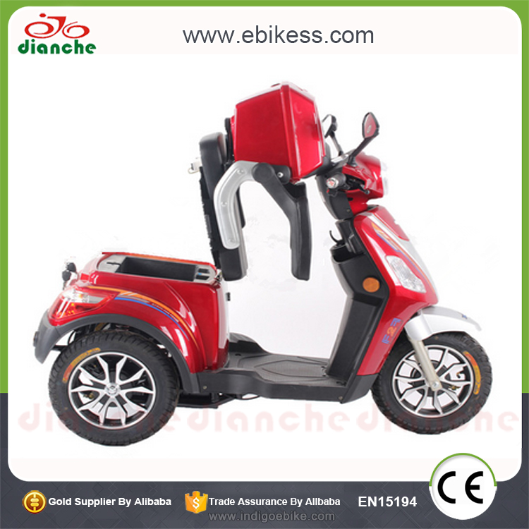 Professional motorized scooter with seat made in China