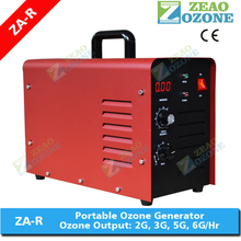 CE portable ozone generator air purifier ionizer for hotel use 6g/hr