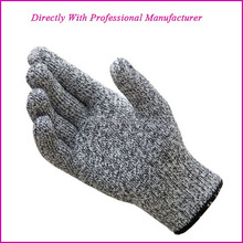Food Grade High Performance Level 5 Protection Anti cut heat resistance gloves