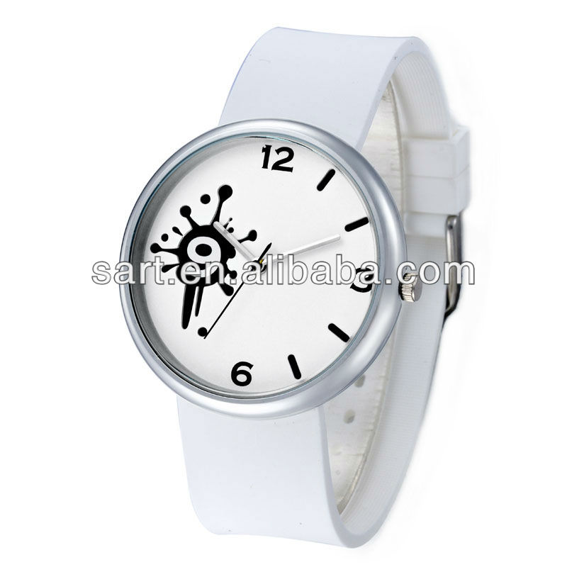 Fashion silicon alloy hot sale high quality ladies branded watch