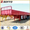 China supplier High performance 3 axles 40T wall lorry semi trailer Curtain Side Semi Trailers Price