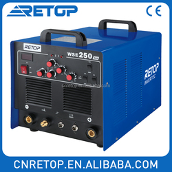 WSE200 copper aluminum tig weld ac/dc inverter welder welding machine second hand machinery