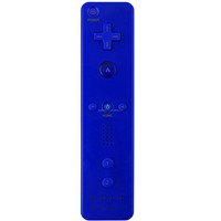 For Wii/ Wii U Blue Wireless Remote Plus Controller