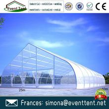 New Design cheap 20x30 clear roof wedding tent curved marquee tent for sale
