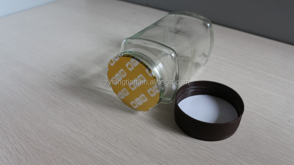 High quality one-piece aluminum foil induction/heat seal liner for coffee jar
