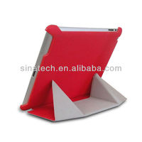 Newest Ultrathin Transformers Leather Case For New iPad Air 5 Stand Cover holster for ipad 5