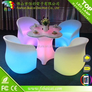 led illuminated furniture / LED coffee table
