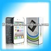 for iPhone4G Wireless Bluetooth Slide Keyboard case
