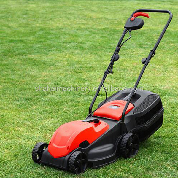 1300W 320mm 30L Brush Motor Corded Lawn Mower/portable lawn mower german garden tools