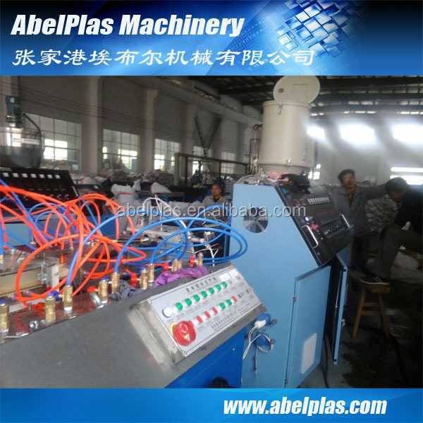 wpc profile production line with high performance