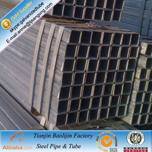 28.6x28.6mm ERW Welding Line Type and Steel Steel Grade square steel pipe and tubes