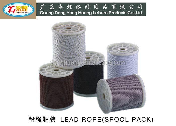 Roll pack 60G / M lead curtain rope lead line for Hotel , hospital , school Curtain