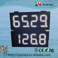 Two Sides Four Face 8.8.8.8 Gas LED Screen For Gas Station For Timing Outdoor Waterproof