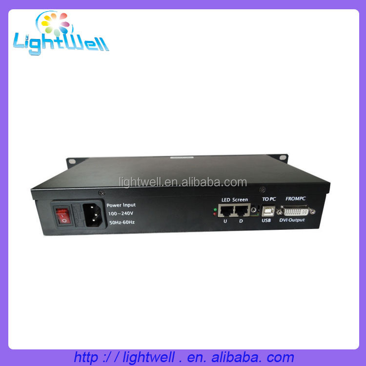 multi interface easy to operate led video control systerm Linsn TS852D sender box by laptop for led screen