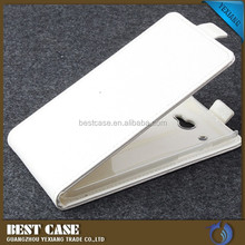 Wholesale leather flip case for htc butterfly x920d mobile phone case