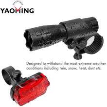Aluminium Alloy Bike Light Water Resistant Super Bright Bicycle Accessories Travel LED Flashlight