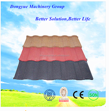 self adhesive stainless roof tile stone coated steel roof tiles from China supplier