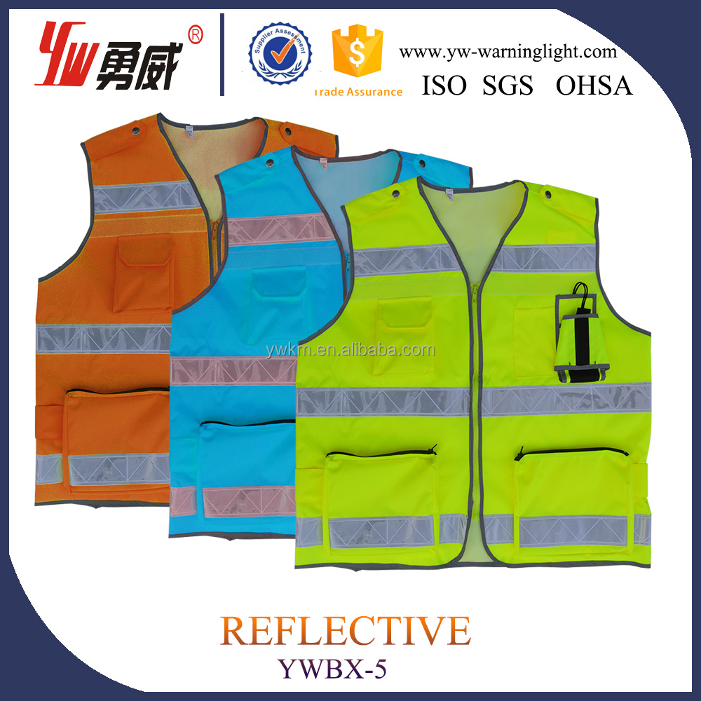 Manufacturer Supplier reflective law enforcement safety vest overalls---