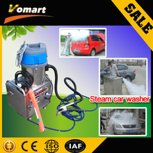 CE 6KW automatic mobile steam car washing machine/machine dry wash car steam cleaner 8 bar