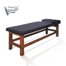 solid wood massage table of salon furniture(D09)