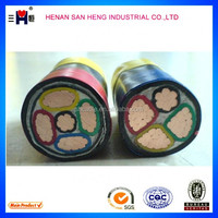 0.6-1kv copper conductor XLPE insulated PVC sheathed armored 3x2.5mm2 power cable