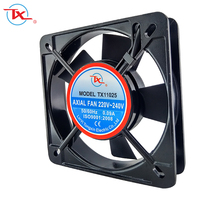 TONGXIN AC 220 110x25mm 11025 110mm Metal Body Air Cooler Big Size Fan