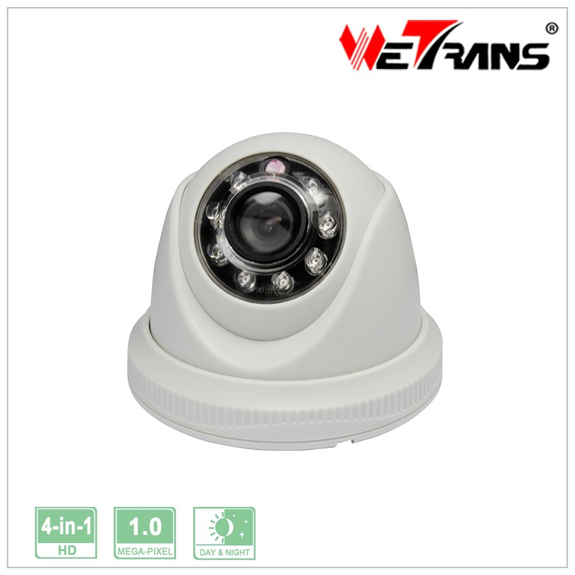 Shenzhen Low Price 720P AHD CCTV Security Mini Dome Camera Night