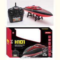 Rc Speen Boat Bensin With LCD