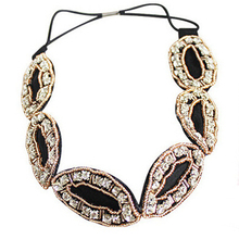 Wholesale Handmade Hair Accessories Women Stretch Beaded Headband In China