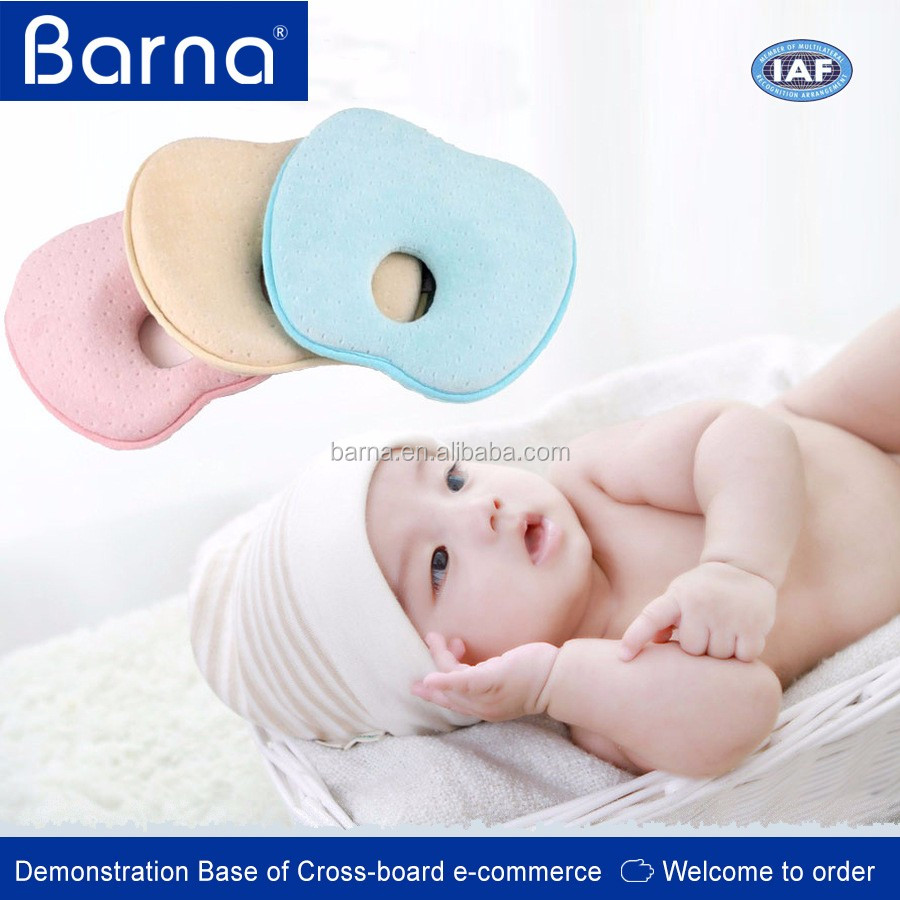 customized children's memory foam bed infant pillow baby head support