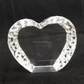 K9 quality blank heart crystal for 3d engrave