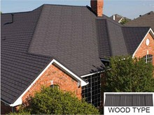 Colorful Wood kerala stone coated metal roof tile,Roof Shingles Prices for modern house