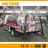 5000L manual control Asphalt Road Emulsion Spraying Machine