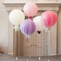 New Arrived Hot Selling Round Kids Birthday Party Supplies Party Decoration Latex Balloon Sets Tulle Balloons