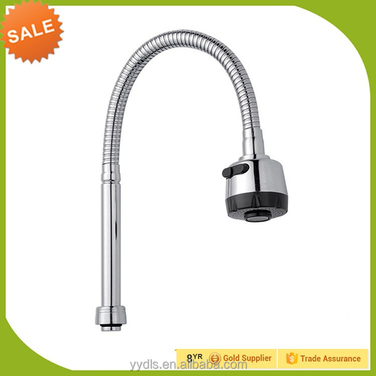 Kitchen Sink Faucet Accessories Flexible Shower Heads Chrome Plated ...