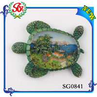 SGM0841Souvenir From China Wholesale Fridge Magnet Sea Souvenir Stems Fridge Magnet