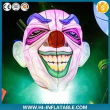 Best sale inflatable clown face decoration for party / halloween
