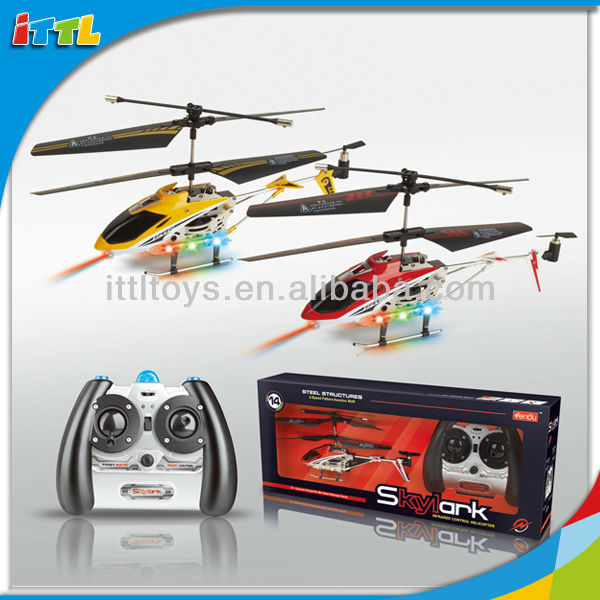 A307463 3 Channel Battery Operated Helicopter Alloy Helicopter Gyro