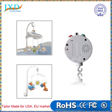 Rotary Baby Mobile Crib Bed Toy Clockwork Movement Music Box Newborn Bell Crib Toys