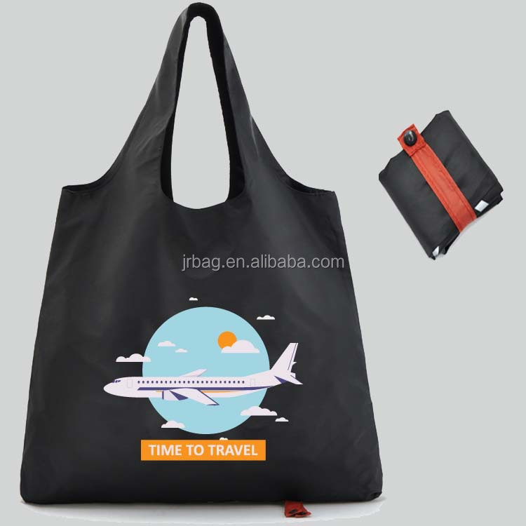 Promotional Wholesale Cheap Nylon Foldable Tote Bag For Shopping