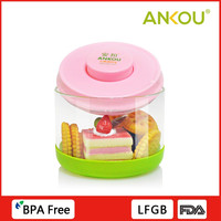 Universal vacuum lid microwave sample containers for food