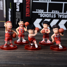 Classic japanese anime PVC mini sports plastic figurine/OEM custom mini sports player pvc figurine China factory