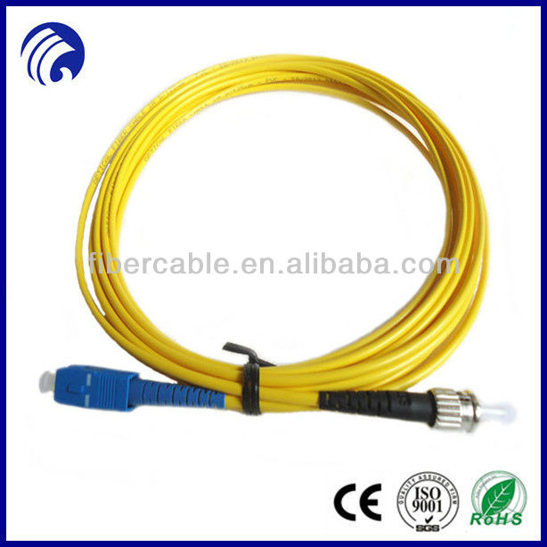 Best sell simplex SC-ST fiber optical patch leads