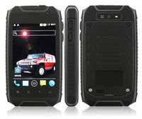 H1 Android Dustproof Phone IP67 Outdoor mobile 3.5'' 960x640p Retina Screen MTk6515 Cortex A9 CPU 2800mAH Battery Rug