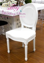 White French Wedding Rubber Wood Louis Chair