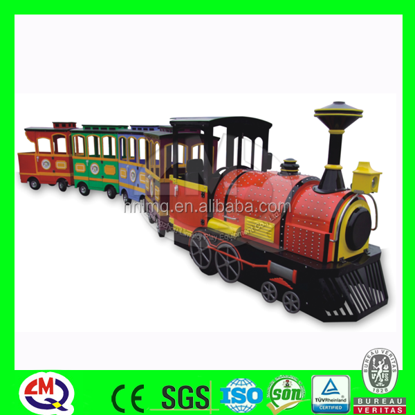 2016 worldwide popular rides electric train set for adults