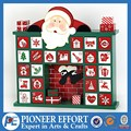 hot sale high quality wooden Christmas advent calendar