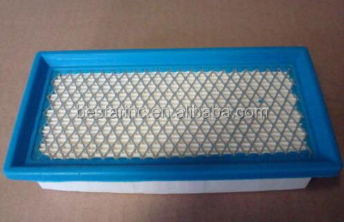 Replace Lawnmower air filter for B&S 496077, for JOHN DEERE AM100137, 0691643