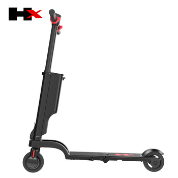Mini electric scooter folding e-scooter smallest with detachable battery